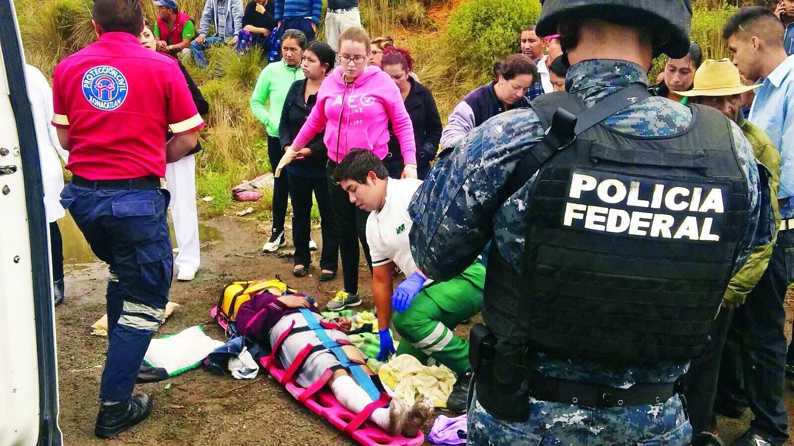 Apachurran a niña que iba a la escuela en Xonacatlan | El Gráfico - El Grafico