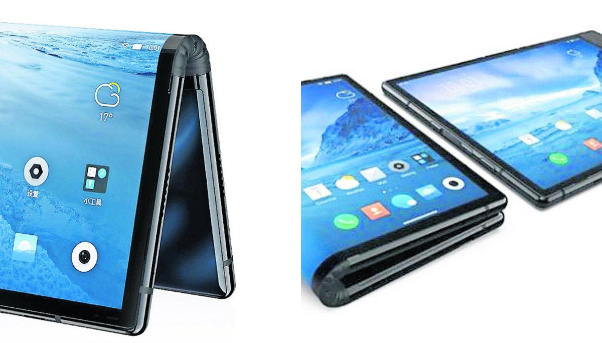 Lanzan celular que se dobla y causa furor, en China | El