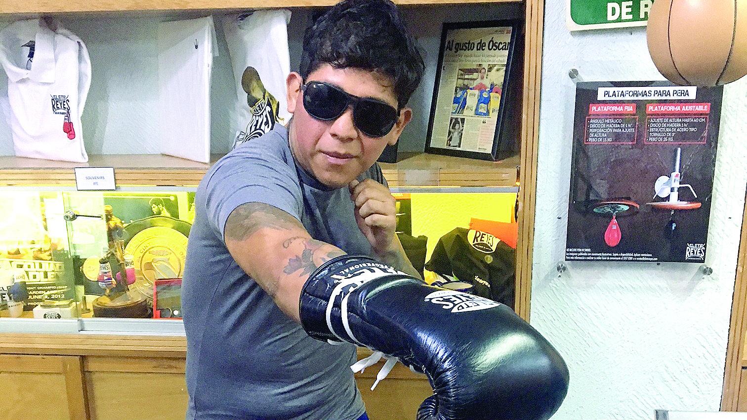 Boxeador invidente ciego Cuernavaca historia