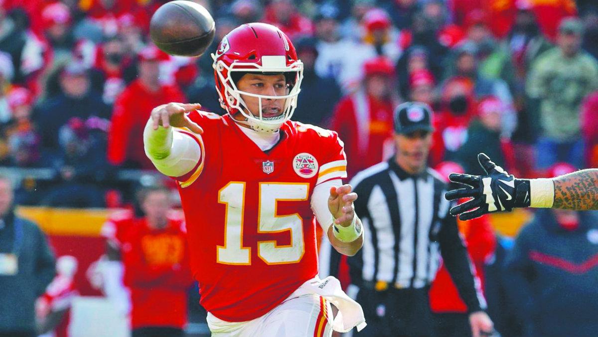 Patrick Mahomes Tom Brady NFL sucesor