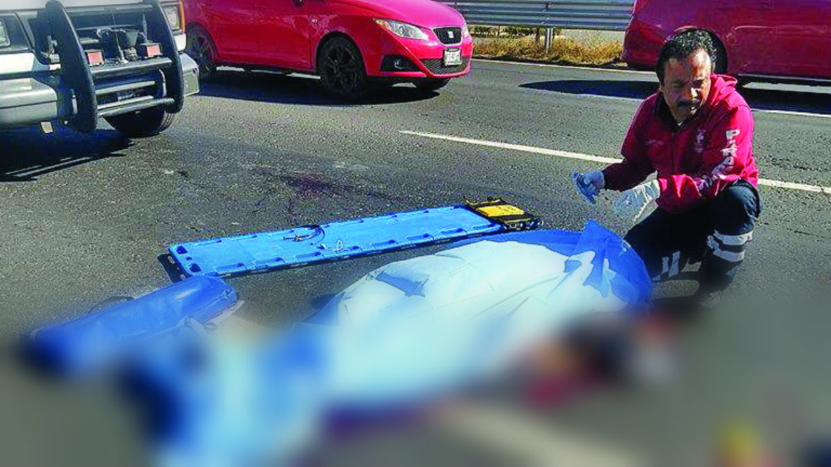 atropellado carretera méxico toluca muerto
