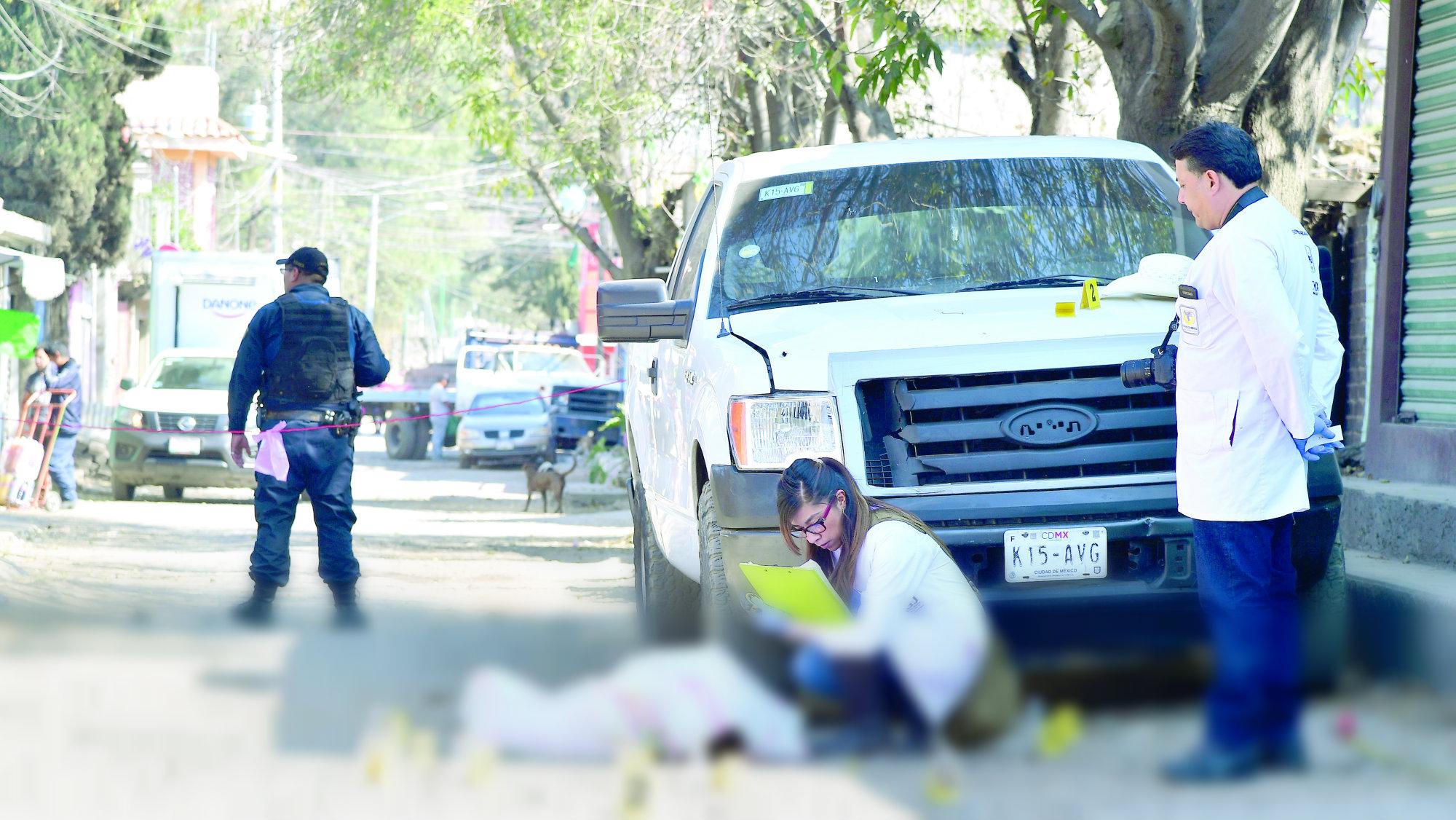 2018 violento crimen organizado México
