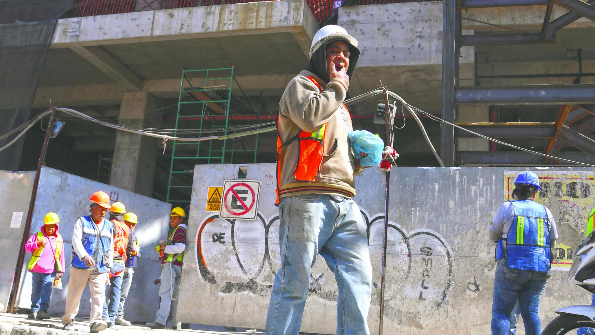 Albañil sufre accidente cae obra Coyoacán