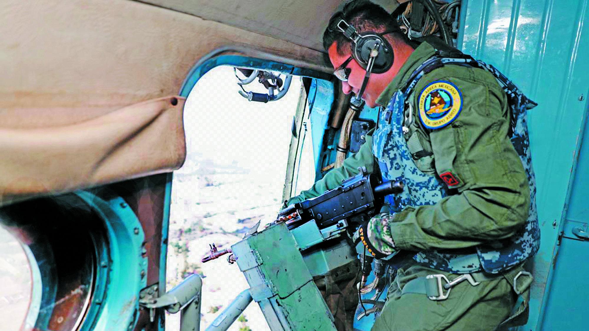 Aviones helicópteros usan turbosina robada México