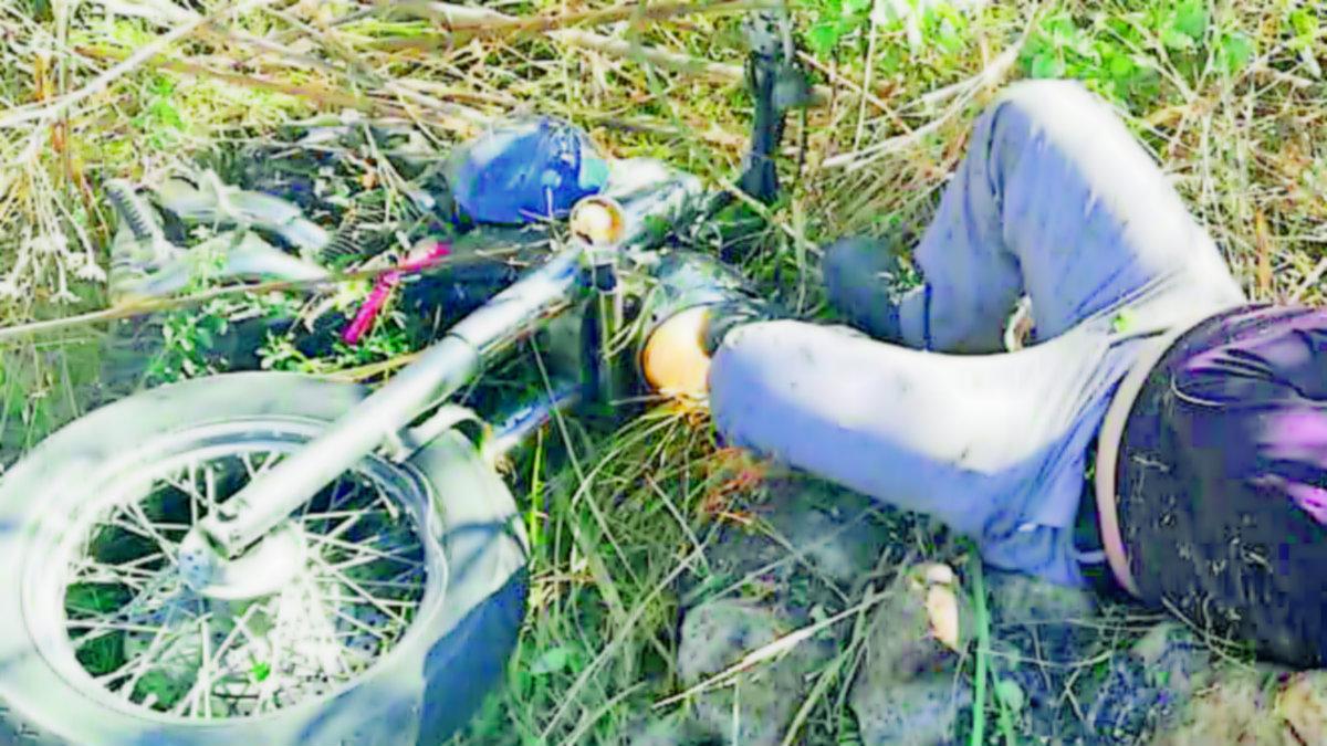 Derrapa moto cae barranca rescatan muere hospital Yautepec