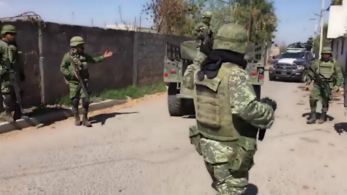 Huachicoleros agreden militares Otumba