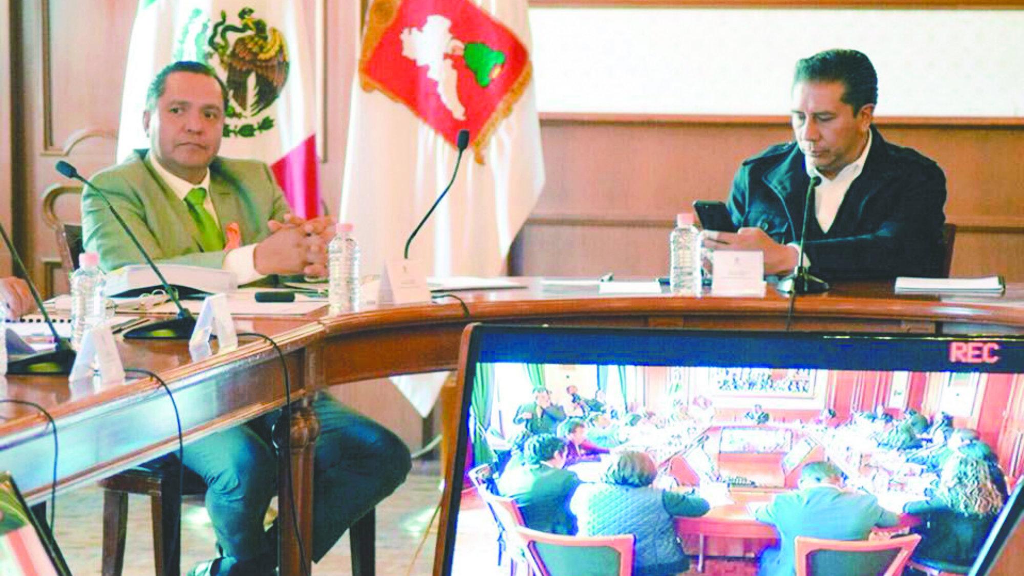 Alcalde Toluca Transición Aviadores