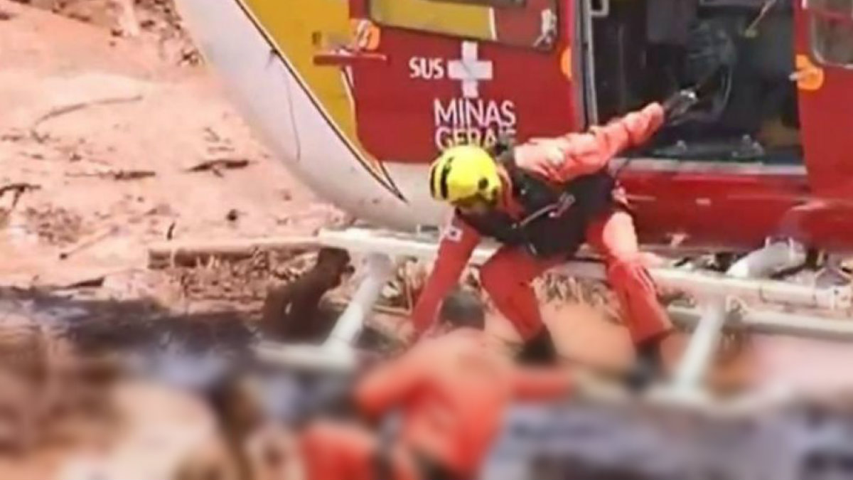 Presa minera Brasil víctimas
