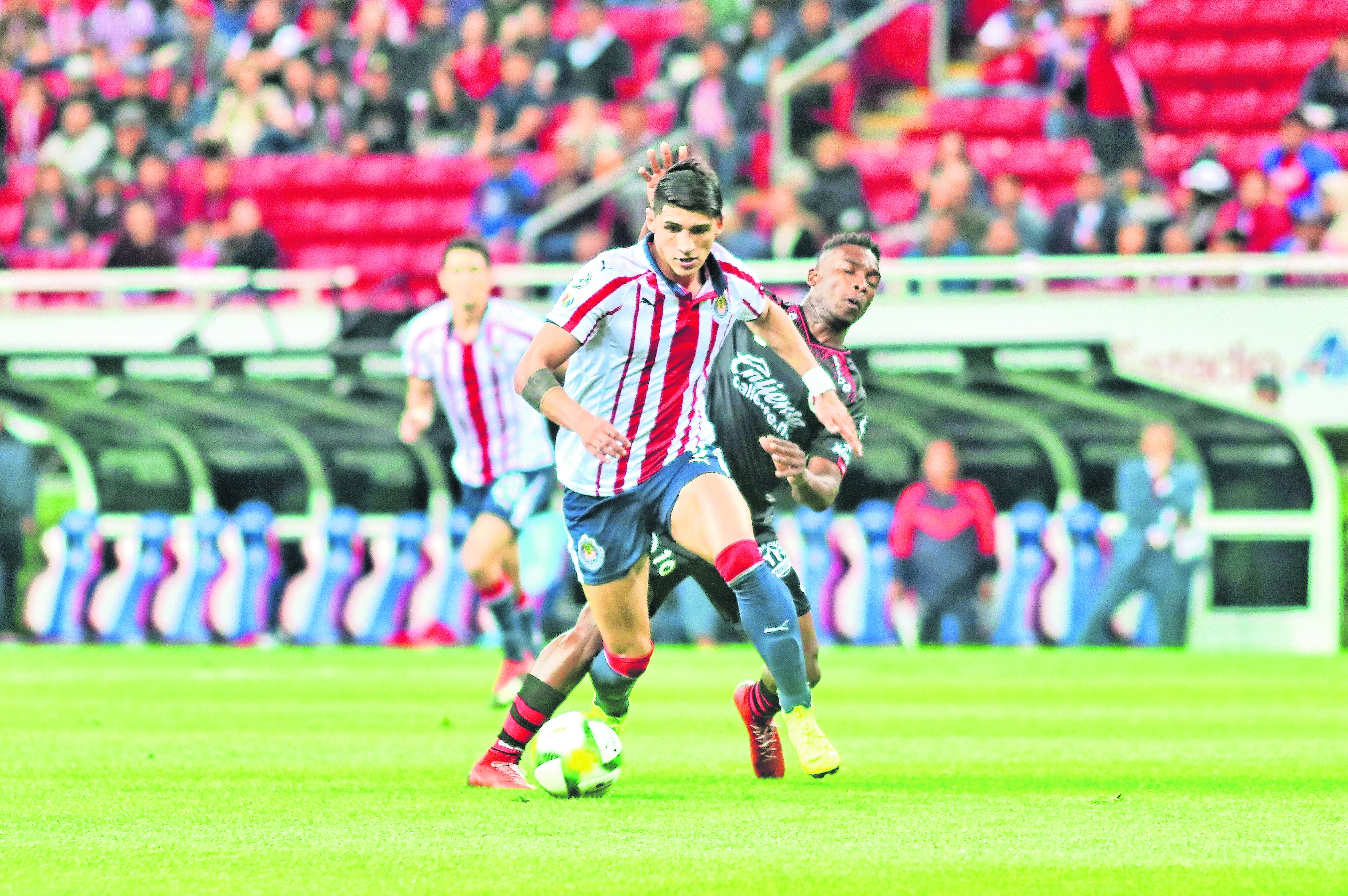 Chivas Santos Liga MX Chivas Invicto Josecarlos Van Rankin Jair Pereira Hiram Mier Miguel Ponce