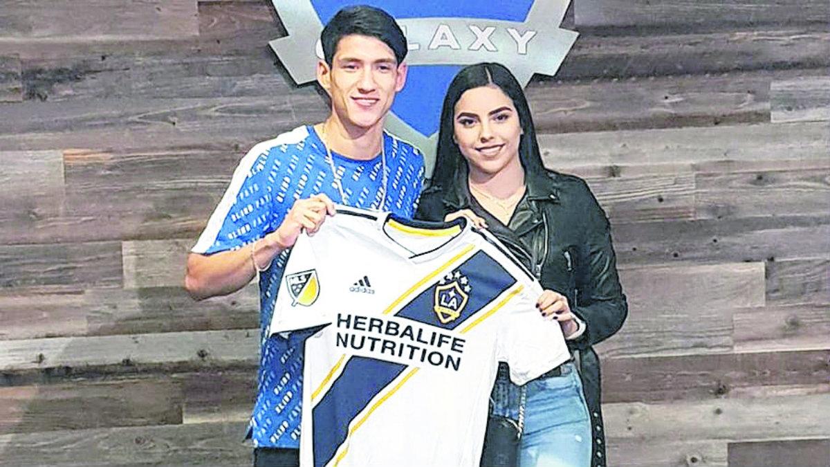 Uriel antuna delantero mexicano Galaxy