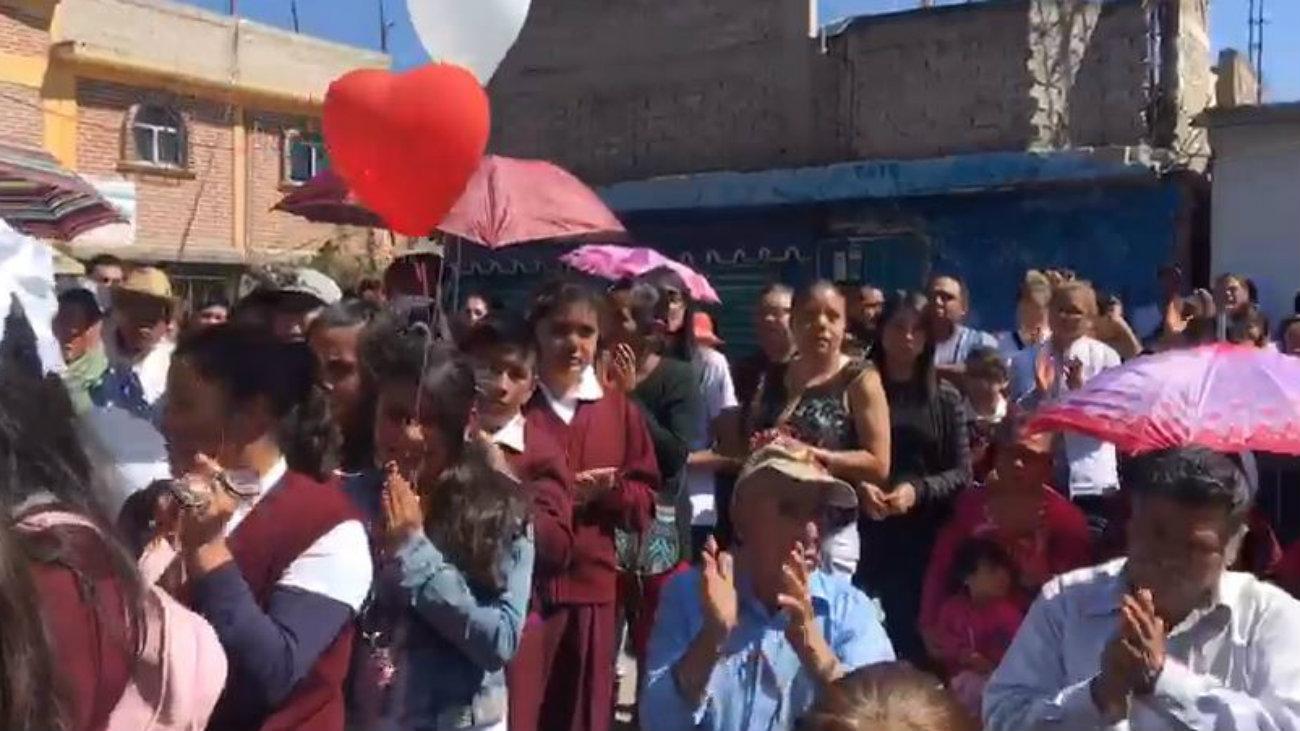 velorio Giselle Chimalhuacán desaparecida