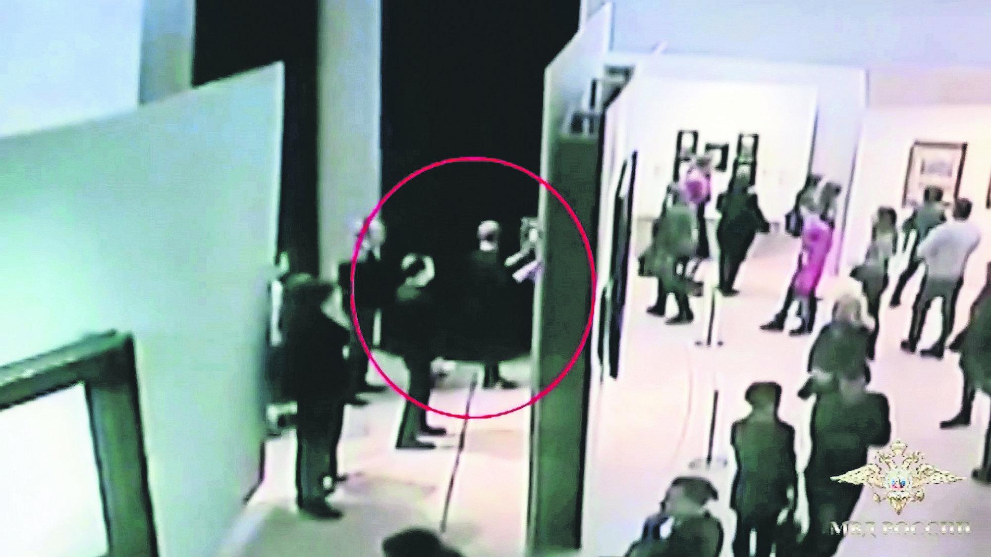 Detiene Ladrón Arte Rusia