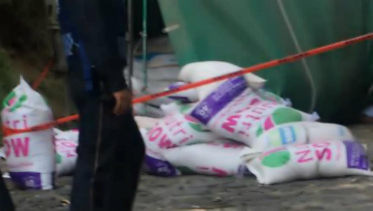 volcadura muerto chofer camioneta carga Xochimilco
