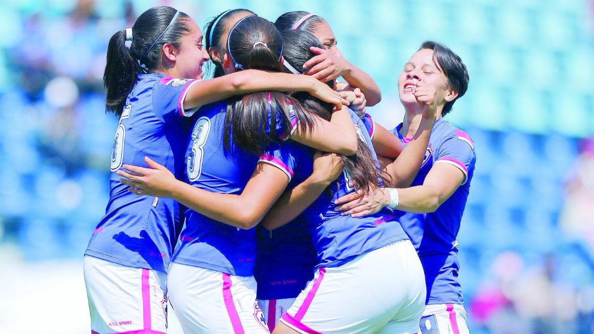 Cruz Azul femenil derrota visitante liga mx