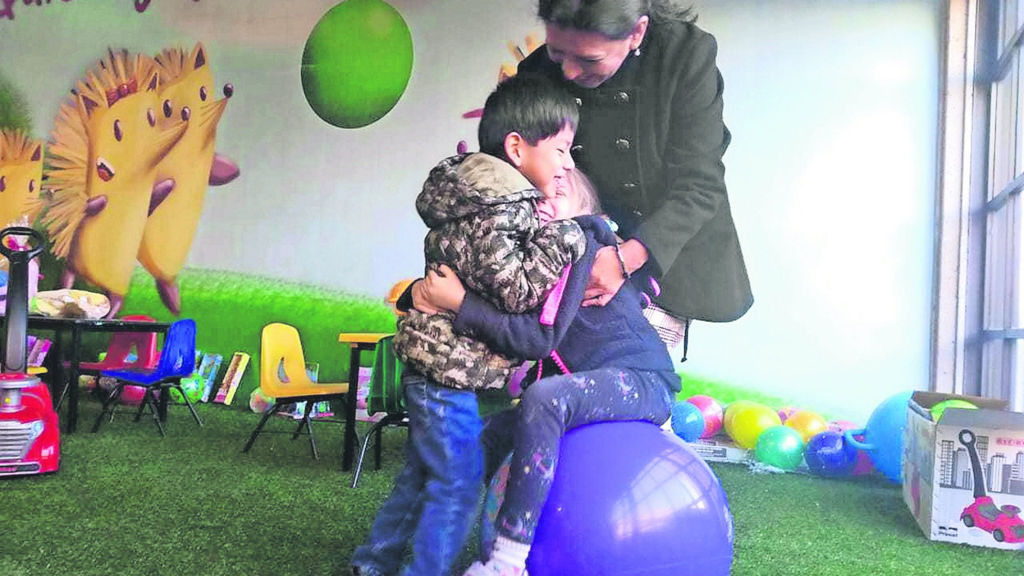 Toluca Adopción Niño Parálisis Cerebral
