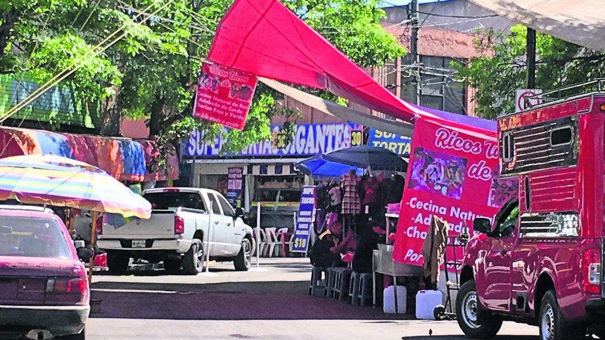 vendedores ambulantes prohibido arresto delito falta grave toluca