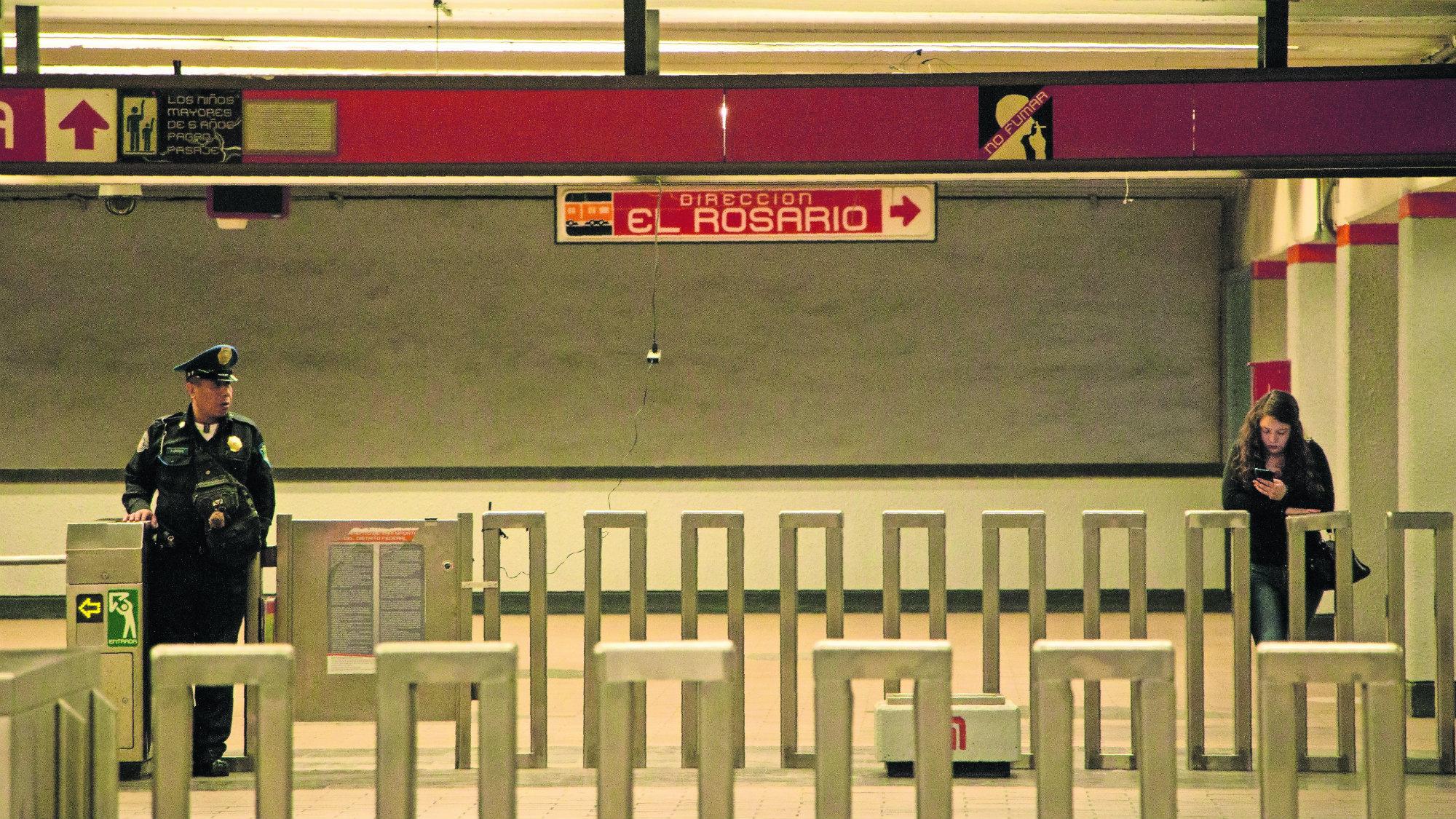 Policía Investigación Agresores Metro