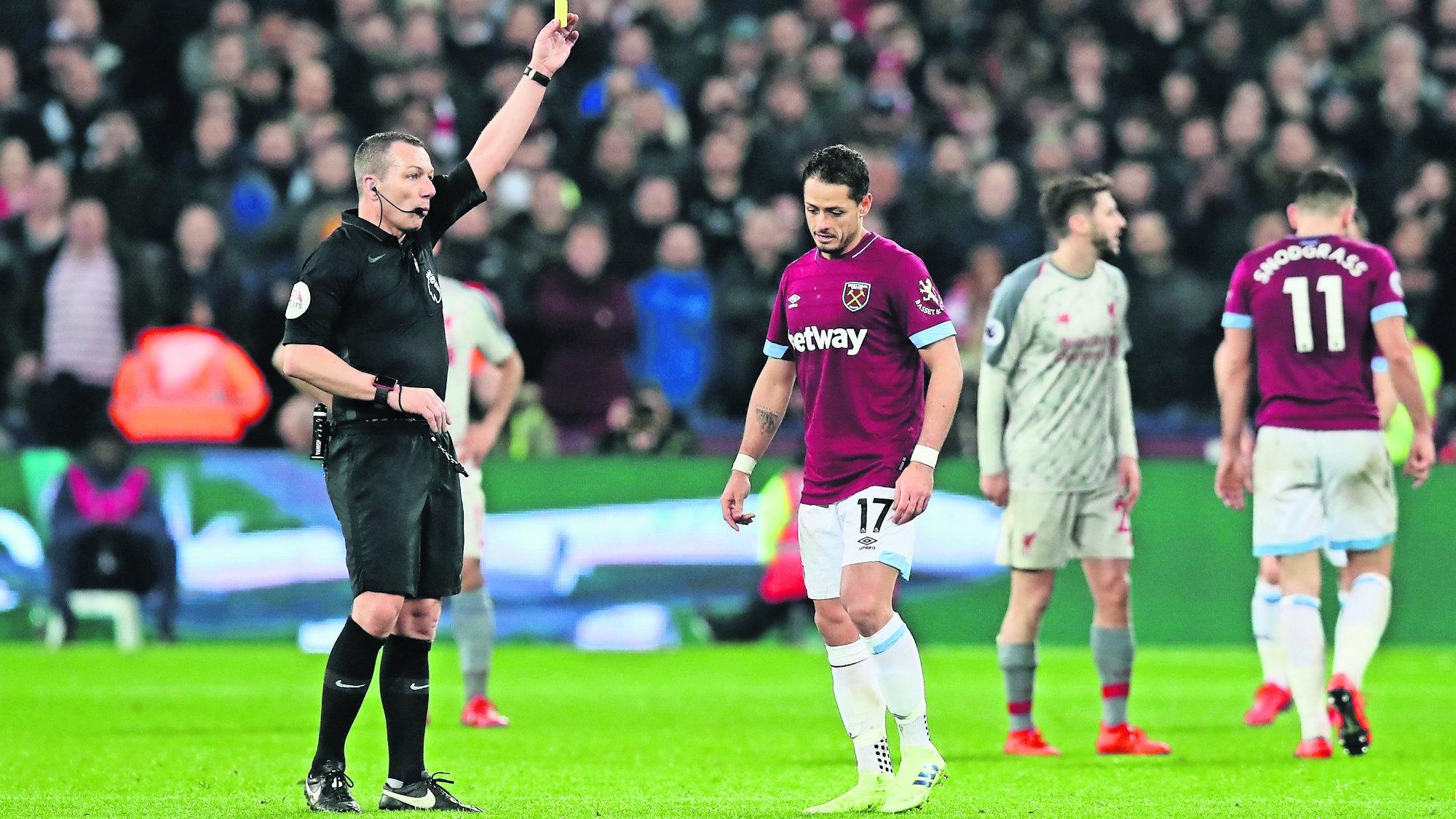 Fútbol Chicharito Regresa West Ham