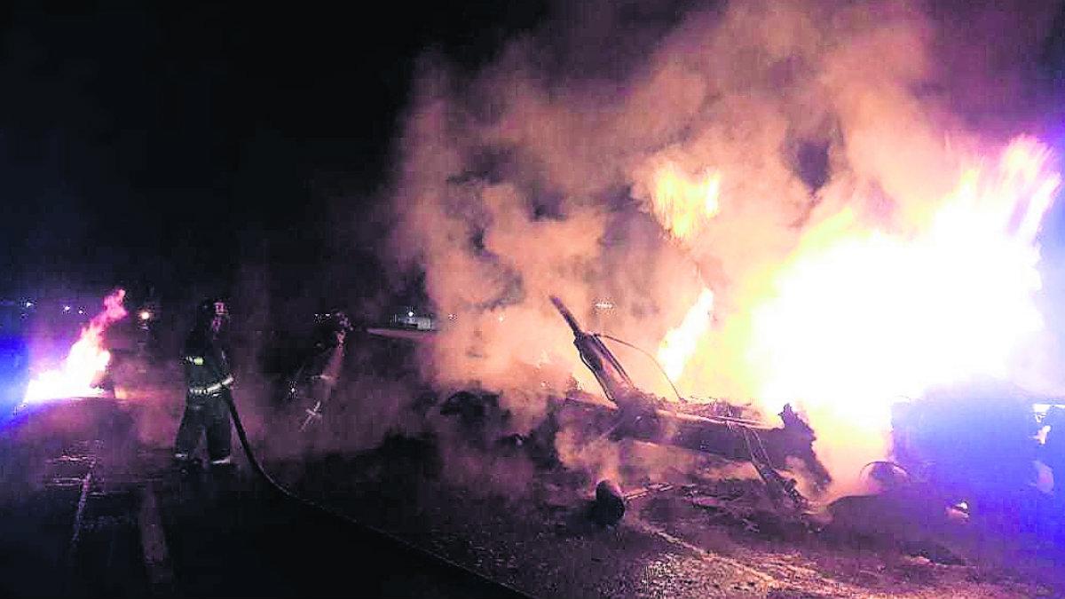 Camión estrella pipa fatal explosión Temoaya