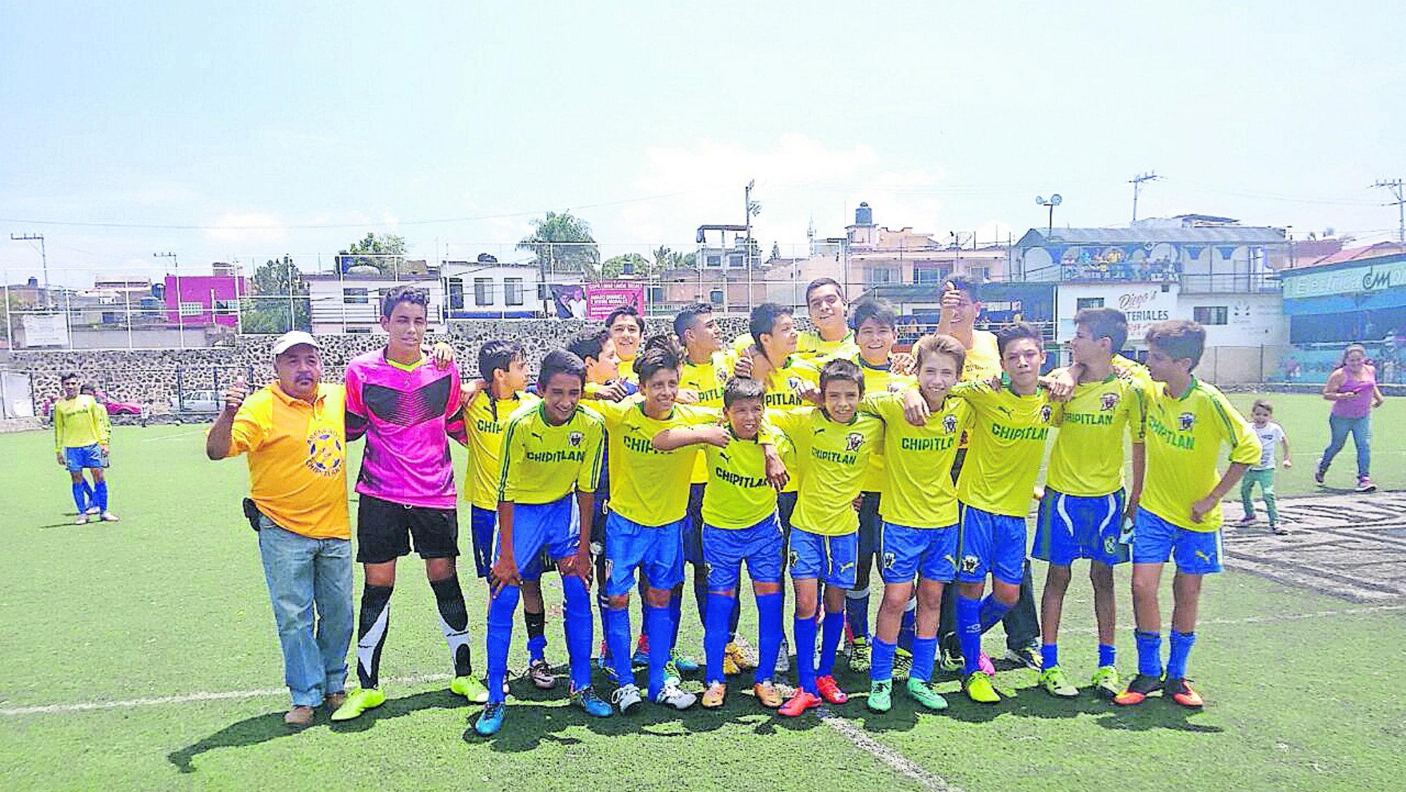 Chipitlán Morelos Fútbol Leyenda