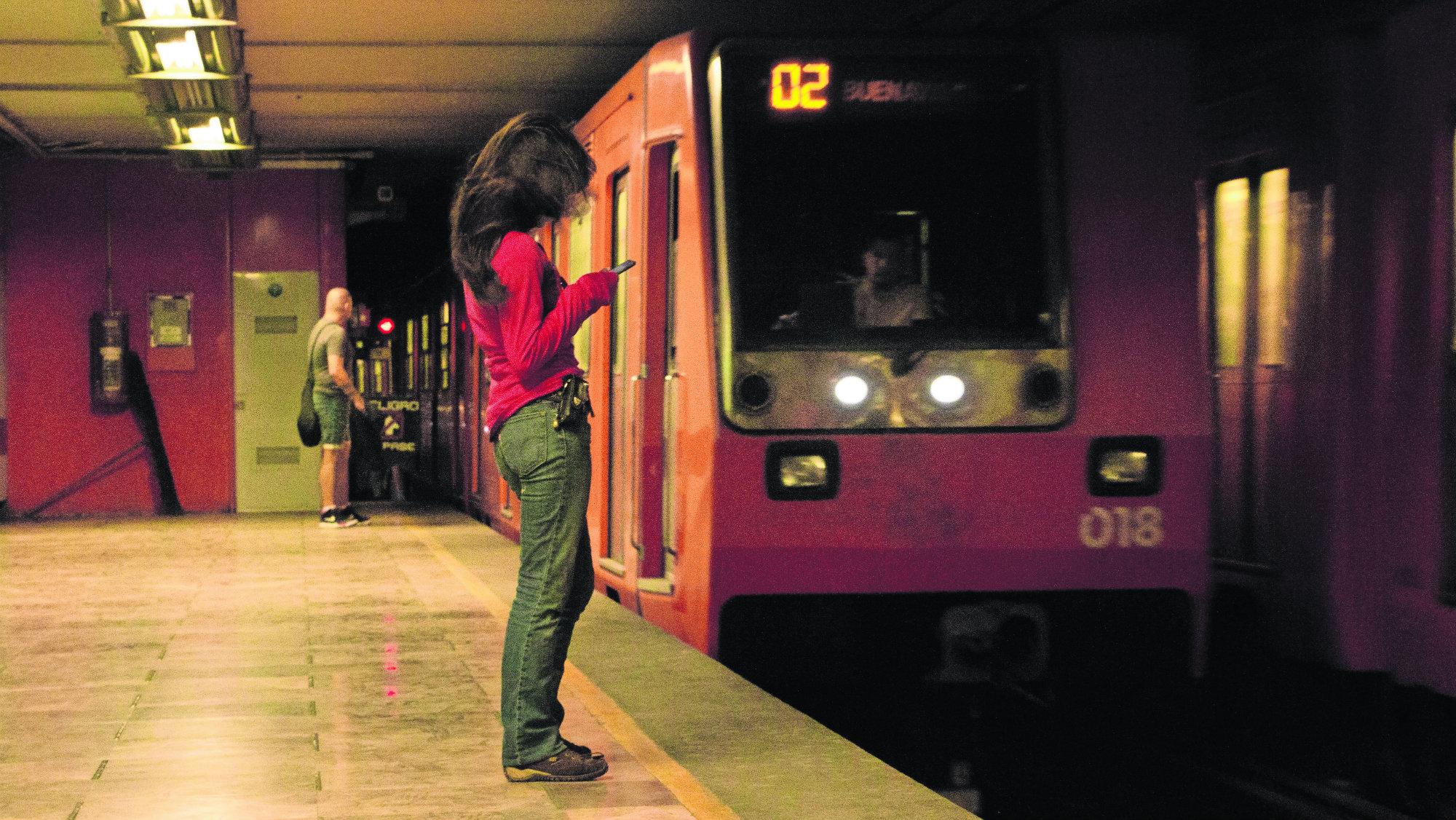 Metro Secuestro Mujer Cicatriz Cesárea CDMX