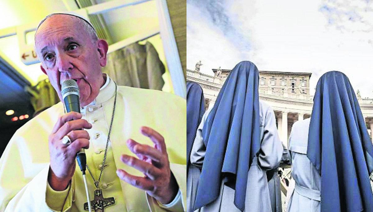 Papa Francisco curas obispos abusan monjas