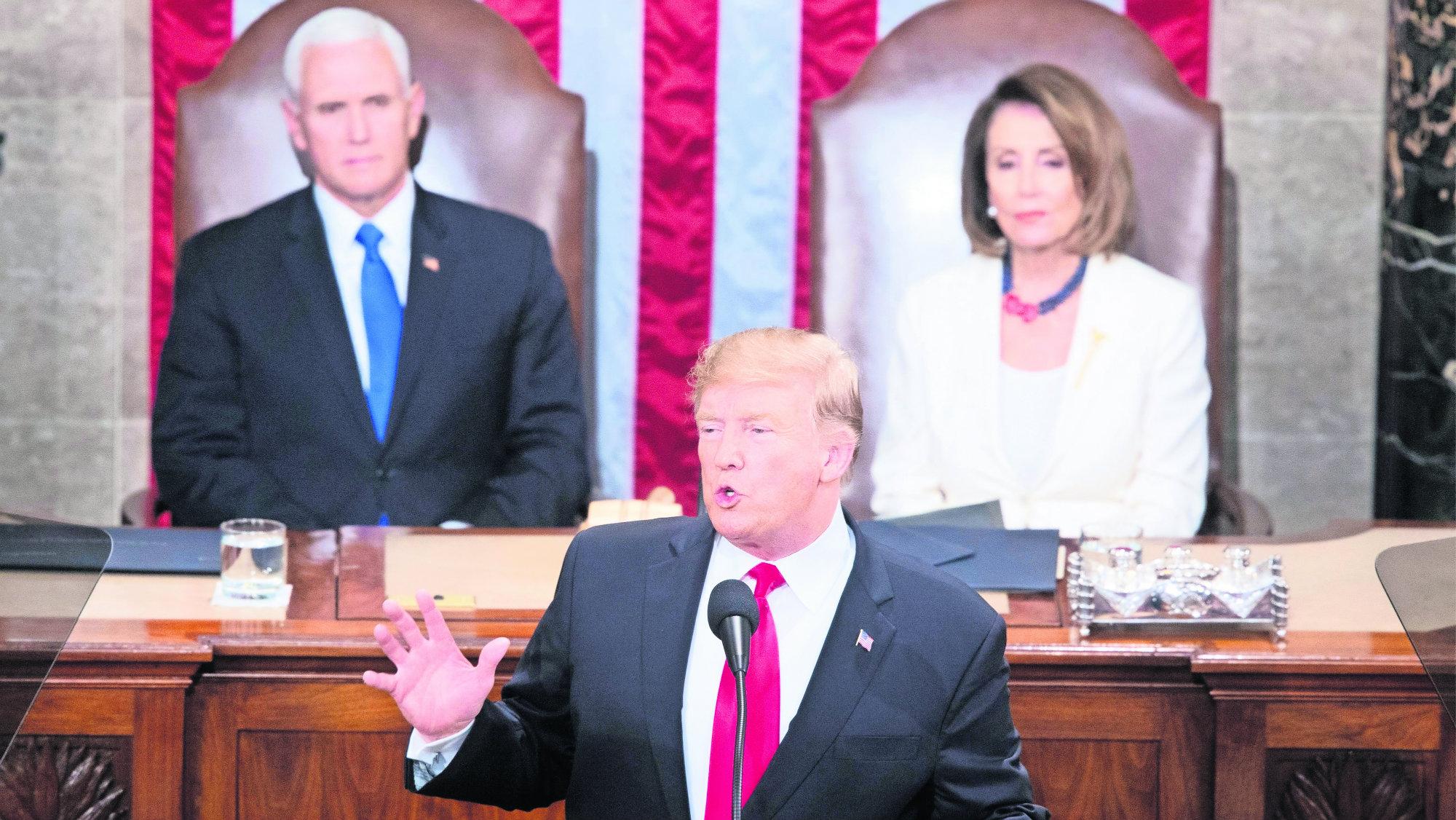 Trump Discuso Estado Unión Muro México