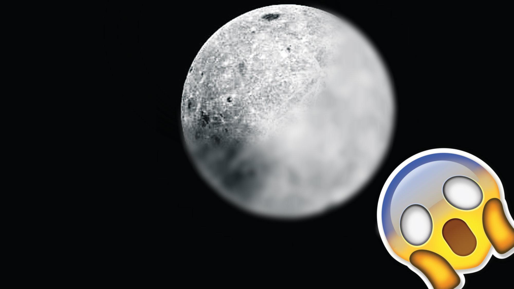 Cara Oculta Luna Tierra Fotografía
