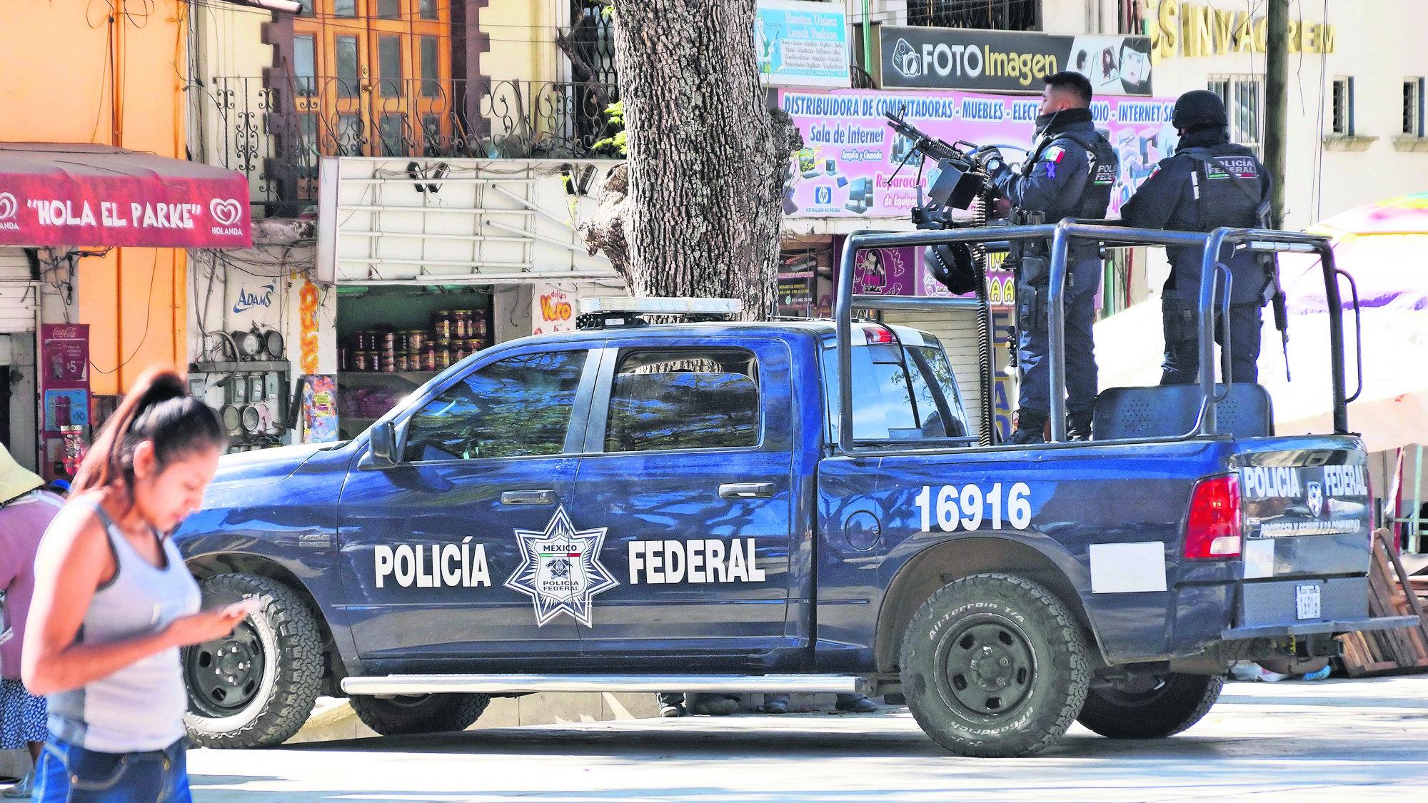 SSP Alfonso Durazo Policías