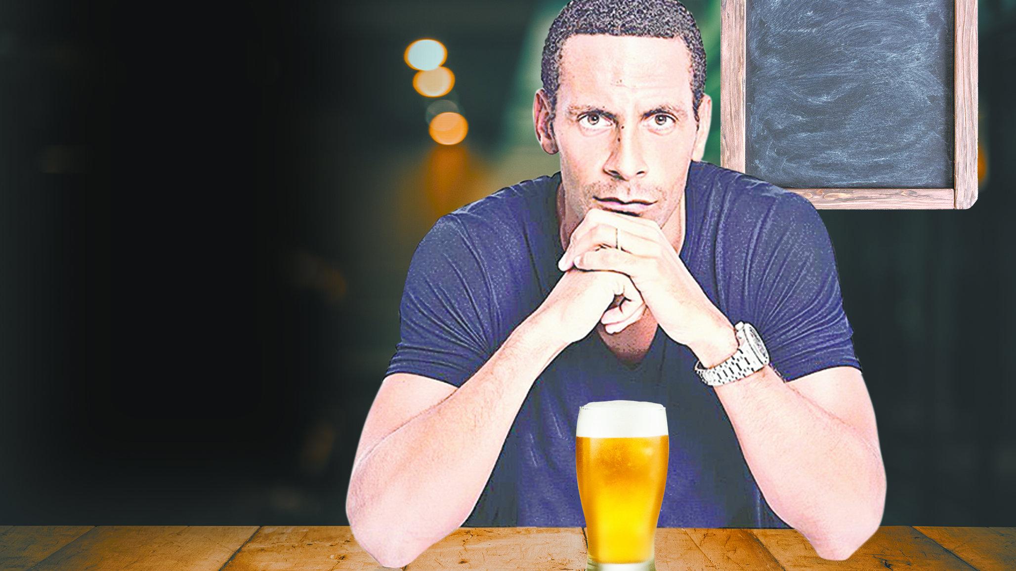 Rio Ferdinand alcoholismo londres West Ham United