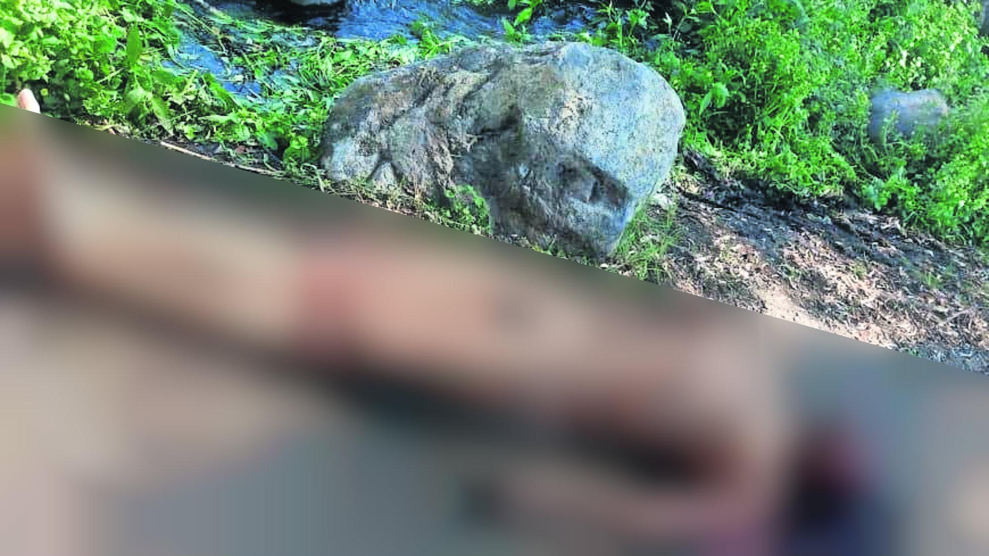 Ejecutan hombre Rocas Desnudo Morelos
