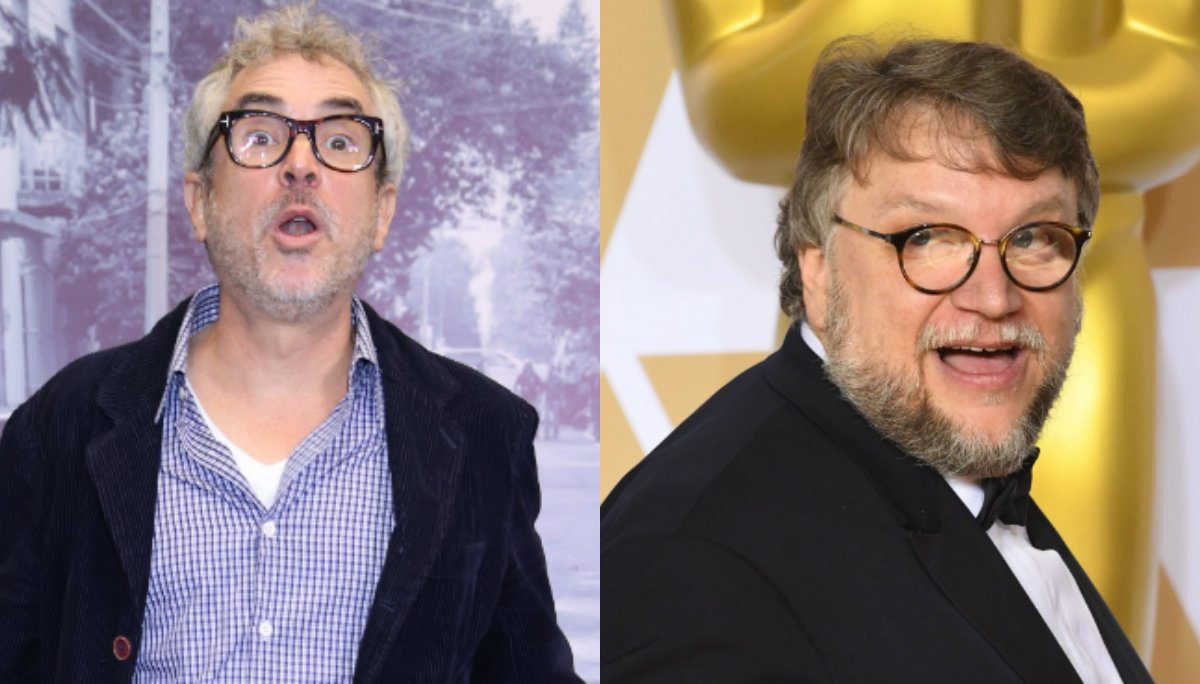 Alfonso Cuarón Guillermo del Toro Academia de Cine Oscar 2019