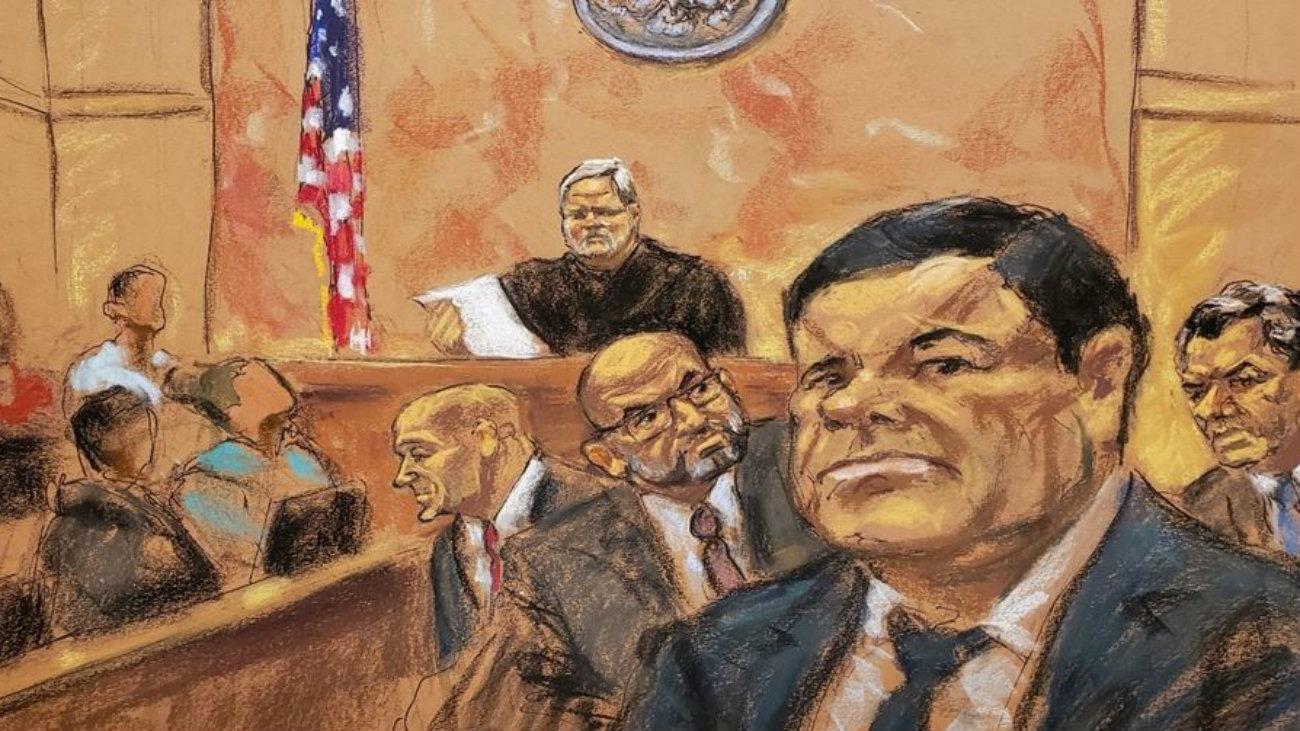 el chapo guzman 10 cargos culpable estados unidos