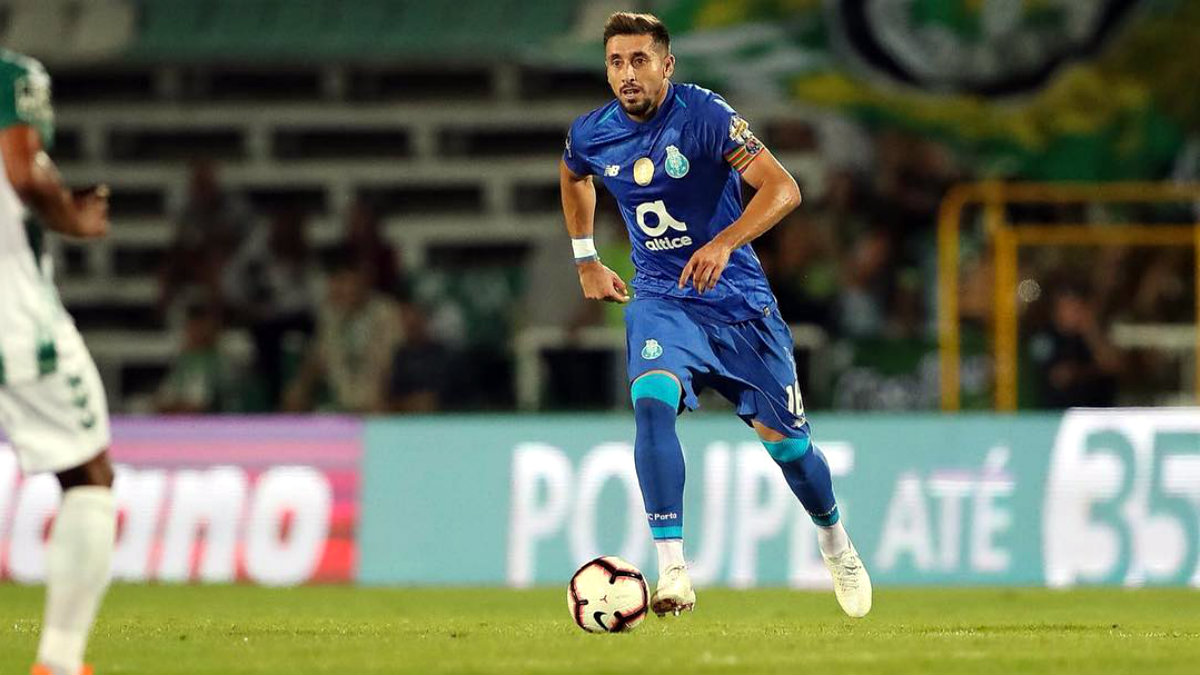 Héctor Herrera Porto club francés acuerdo