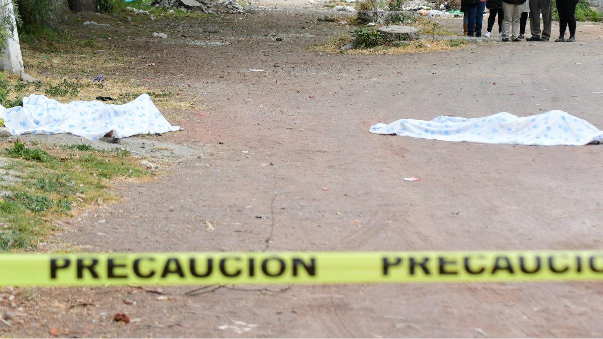hallan cadáveres huellas de tortura golpes pareja Ecatepec