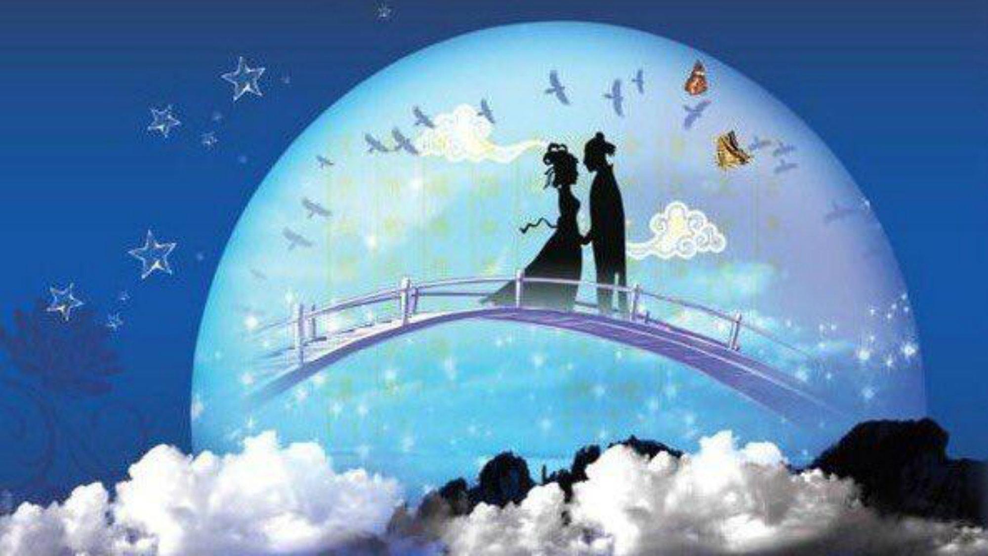 Qi Xi San valentín chino día del amor y la amistad