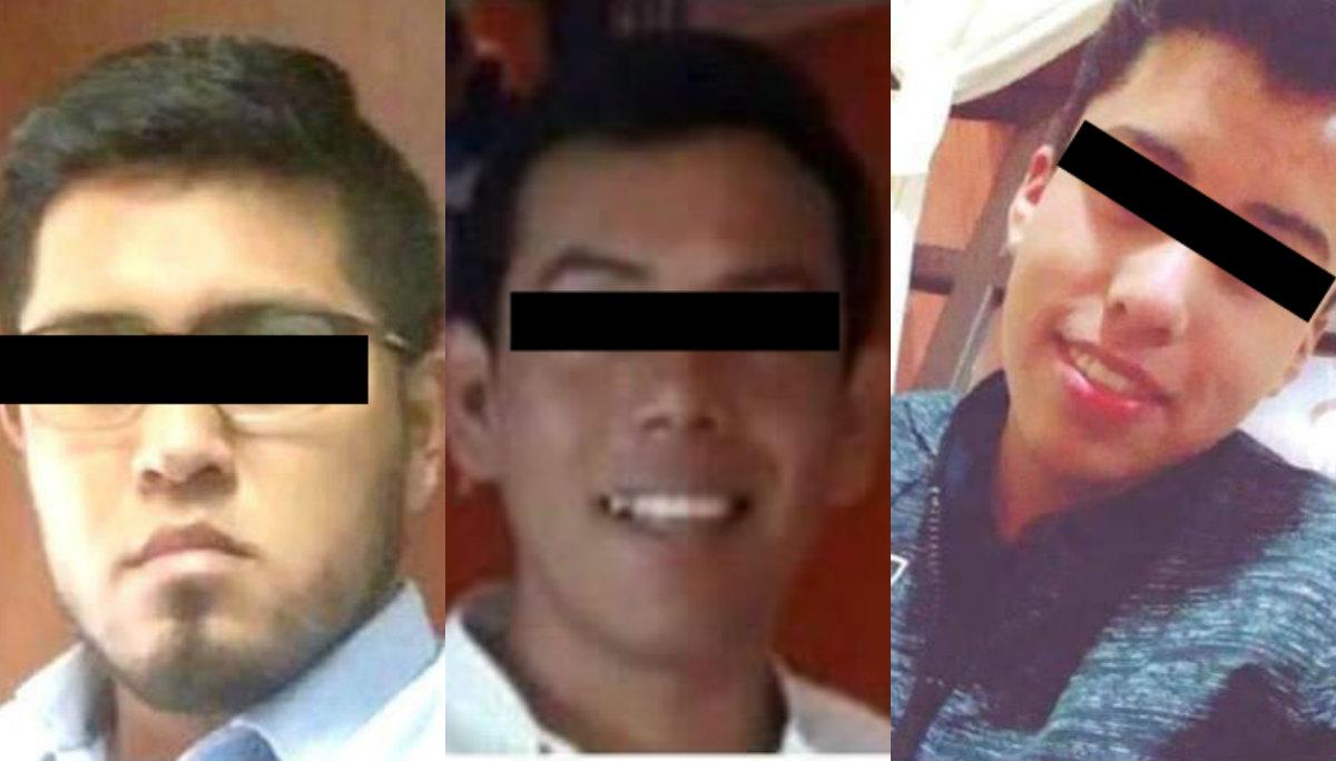 secuestro tres jovenes liberados rescate Ocuilan Estado de México Morelos