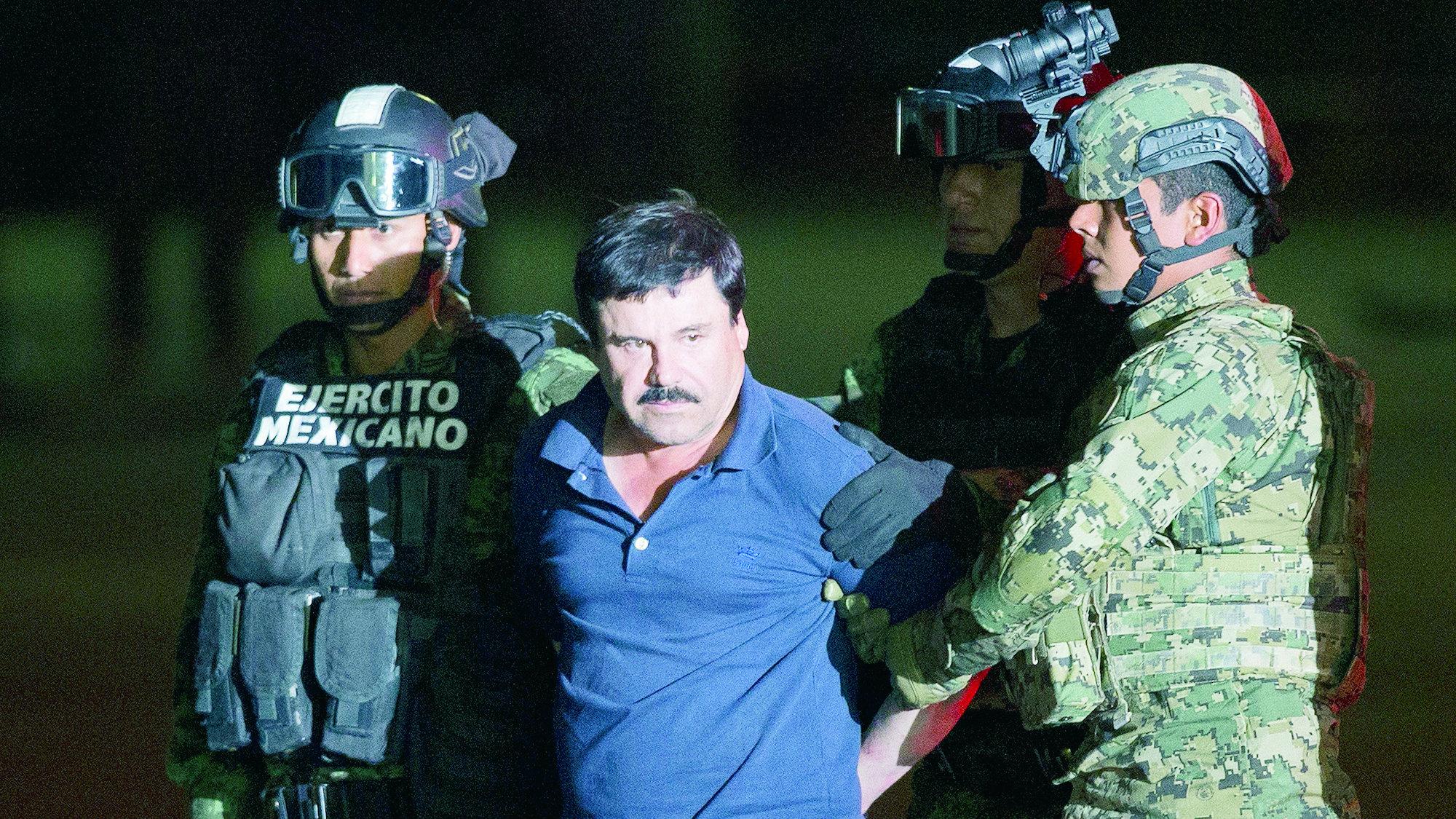 Vida El Chapo Guzmán narcotraficante temido