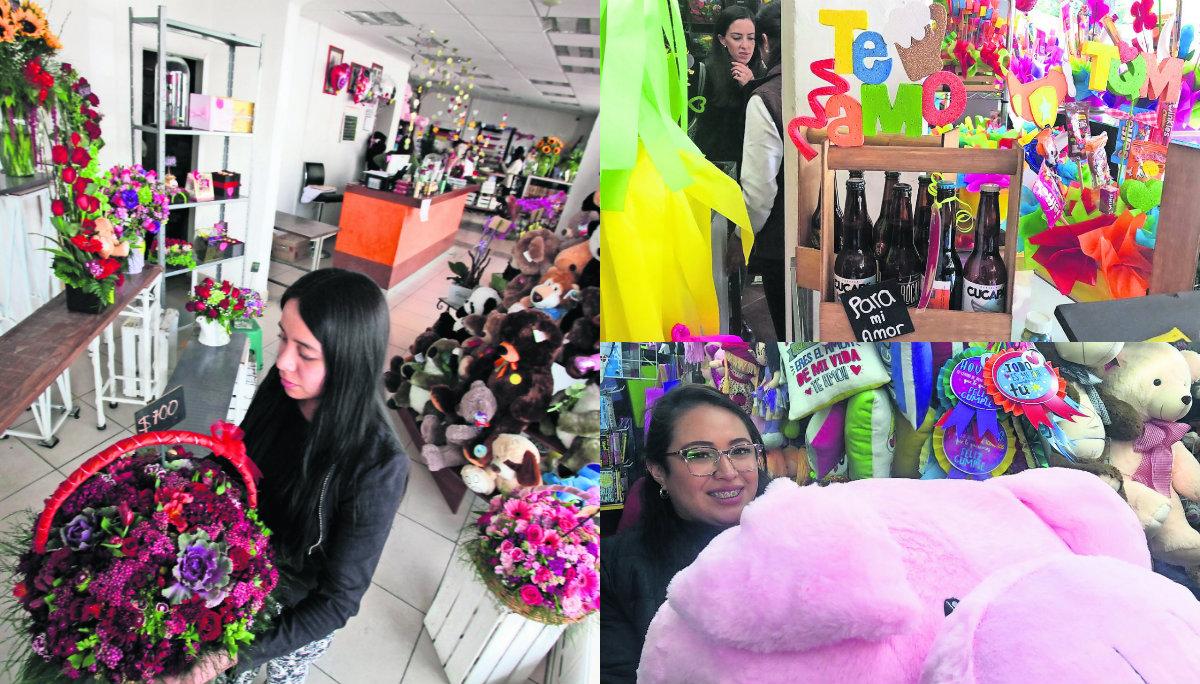 Comerciantes Toluca ventas Día San Valentín