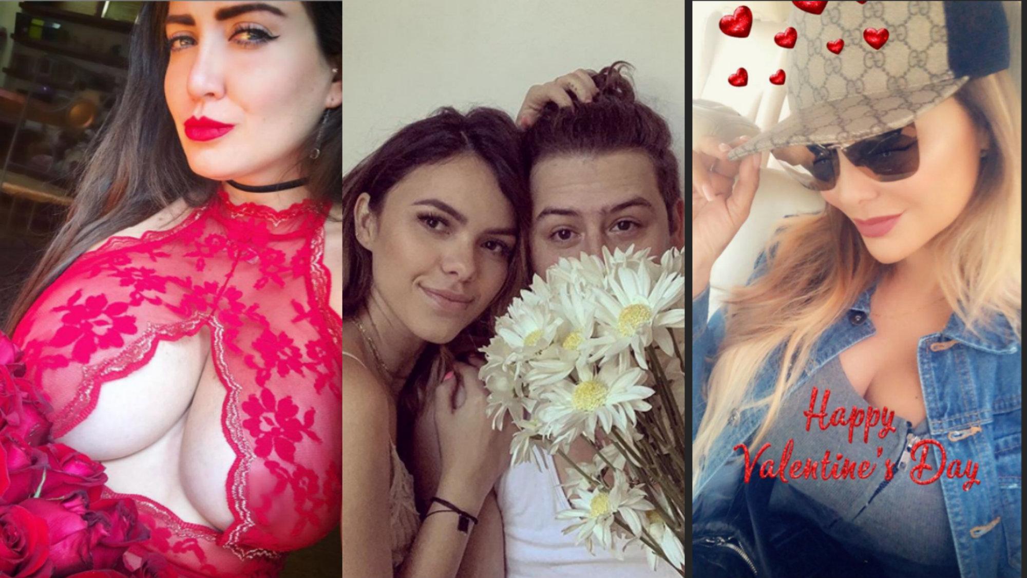 San Valentín Famosos 14 de febrero día del amor y la amistad