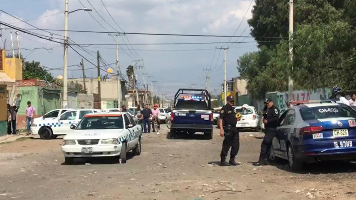 Taxista asalto delincuentes asesinan balazos Chalco