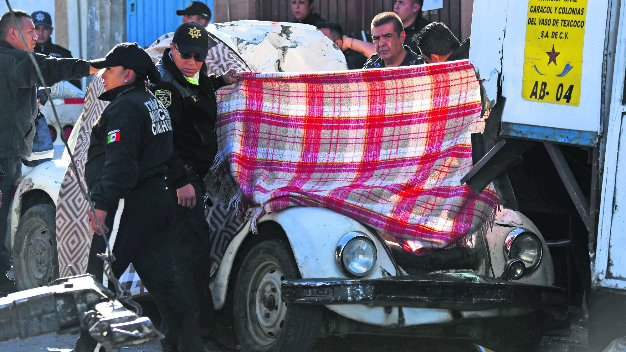 Chaco Vochito Chimalhuacán Policía Muere