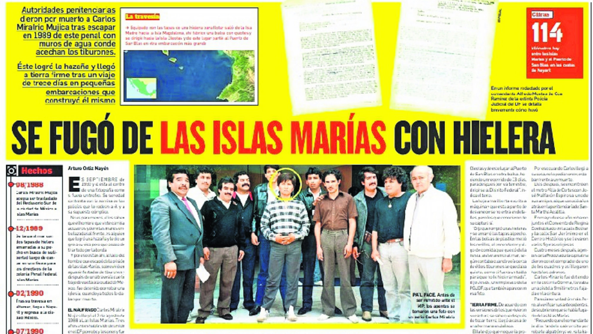Islas María Miralrio Mujica Prófugo
