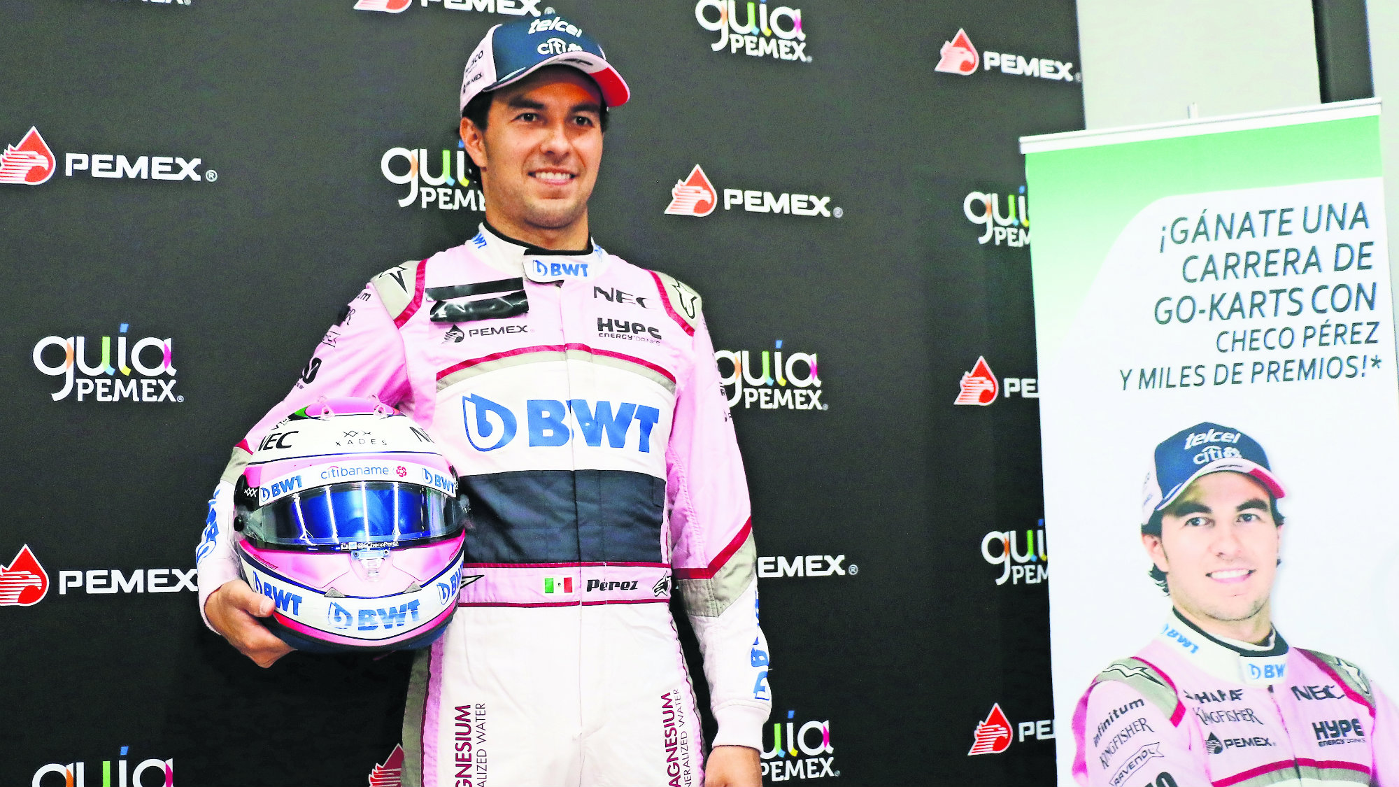 Checo Perez Fórmula 1 México