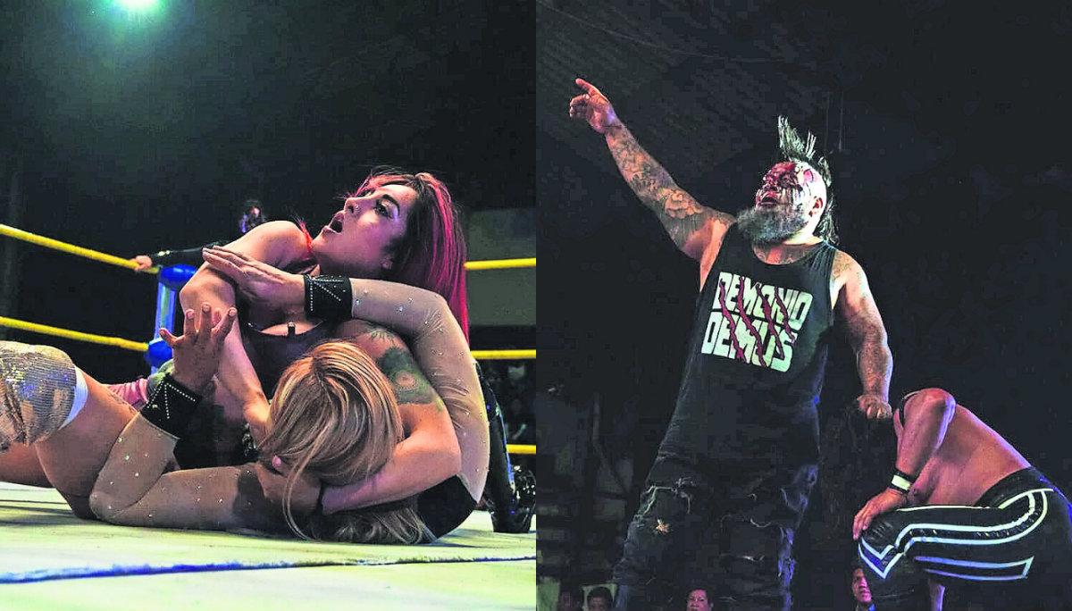 Revolución Lucha Libre Kaoz Monterrey arena López Mateos