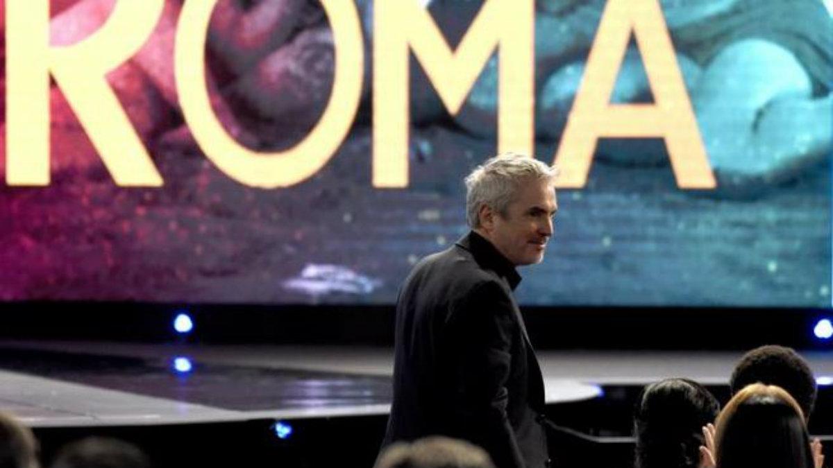 Roma Alfonso Cuarón Roma película hace historia mejor película extranjera