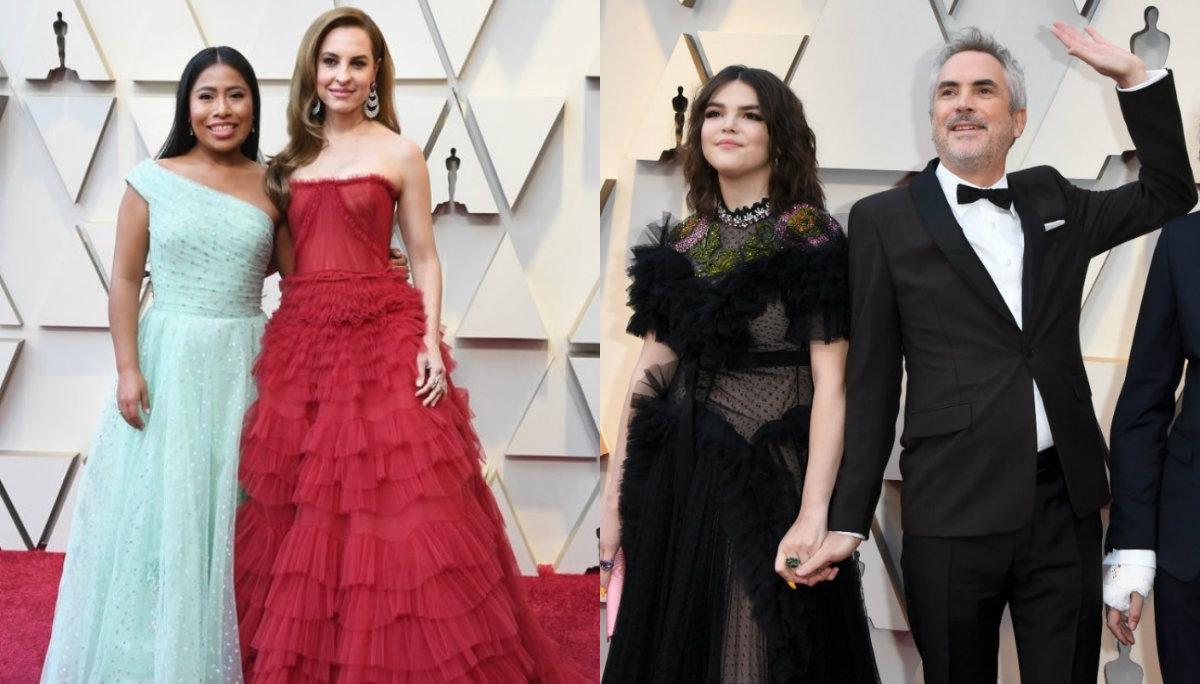 Premios Oscar ceremonia gala premios elenco Roma alfombra roja