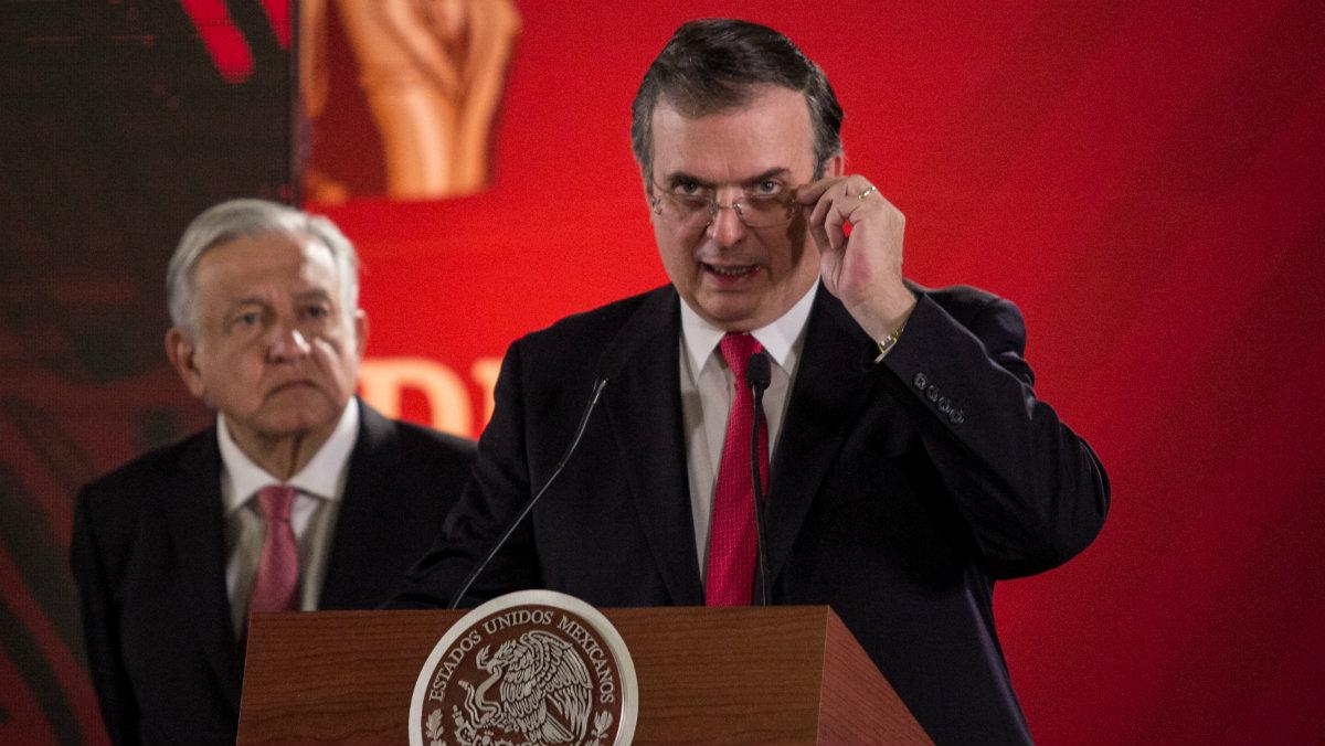 Andrés Manuel conferencia Marcelo Ebrard matutina plan estrategia apoyo a migrantes SRE