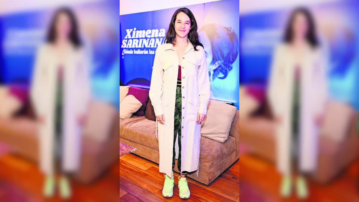 Ximena Sariñana saldrá de gira musical con su bebé
