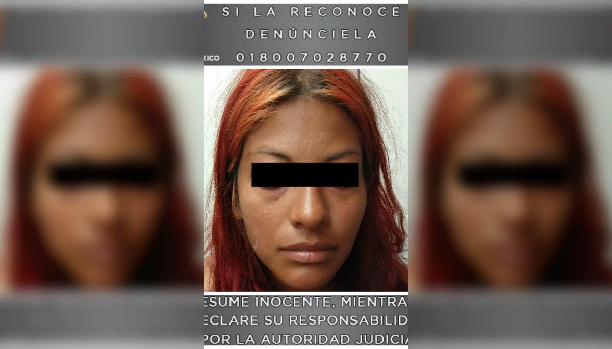 detienen mujer madre grabar a su hija abuso sexual menor de edad difunden video por facebook redes sociales pornografía Centro Penitenciario Chalco